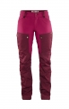 Keb Trousers Curved W Regular, kolor: 356-420 - Dark Garnet-Plum