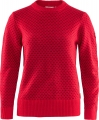 Ovik Nordic Sweater W, kolor: 334 - True Red