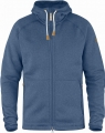 Ovik Fleece Hoodie Fjallraven, kolor: 519 - Blue Ridge