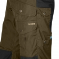 Barents Pro Trousers, kolor: 633-550 - Dark Olive/Black.