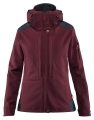 Keb Touring Jacket W, kolor: 356-575 - Dark Garnet-Night Sky