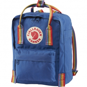 KANKEN RAINBOW MINI - 527-907 - Deep |Blue/Rainbow Pattern