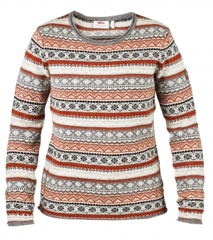 OVIK FOLK KNIT SWEATER W
