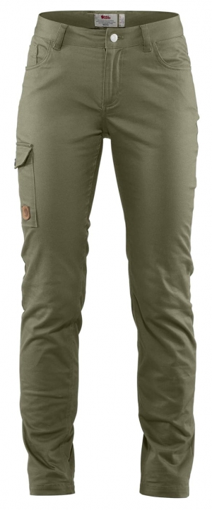 GREENLAND STRETCH TROUSERS W SHORT