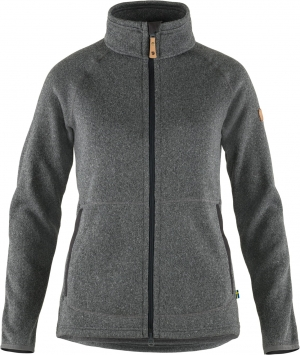 Ovik Fleece Zip Sweater W