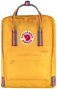 Kanken Rainbow - 141-907 Warm Yellow / Rainbow Pattern