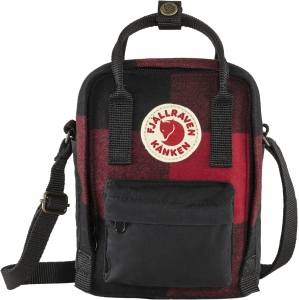 Kanken Re-Wool Sling 320-550 - Red/Black
