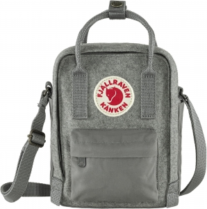 Kanken Re-Wool Sling 027 - Grainite Grey