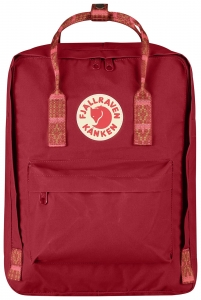 KANKEN - 325/903 DEEP RED/FOLK PATTERN