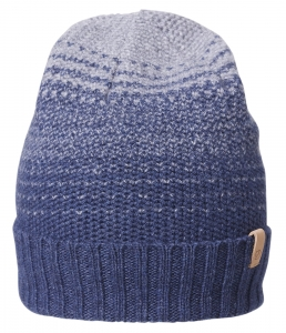 TWO-TONE STRIPE BEANIE