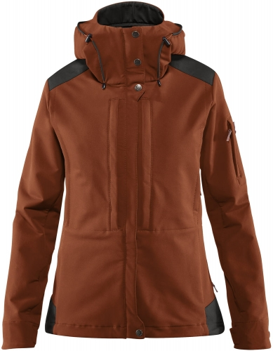 Keb Touring Jacket W, kolor:  215-018 - Autumn Leaf - Stone Grey