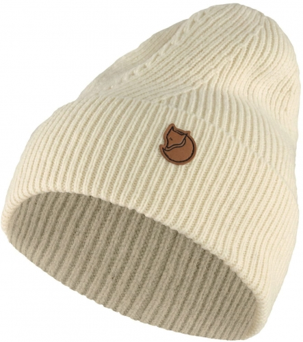 Directional Rib Beanie, kolor: 113 - Chalk White