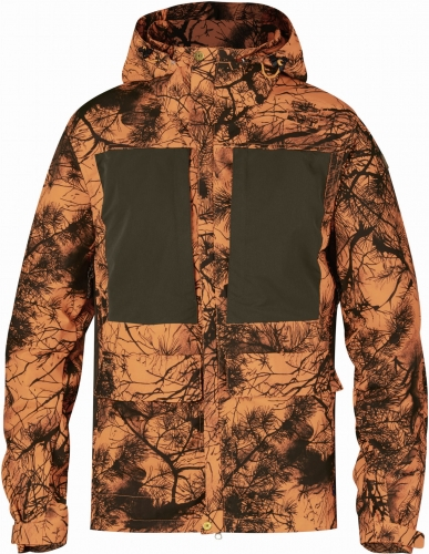 Fjallraven Lappland Hybrid Jacket Camo, kolor: 211 - Orange Camo, fot nr 1.