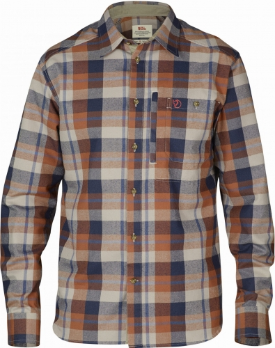 Fjallglim Shirt, kolor: 215 - Autumn Leaf