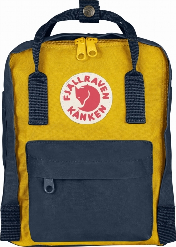 Fjallraven Kanken Mini, kolor: 560/141 Navy/Warm Yellow